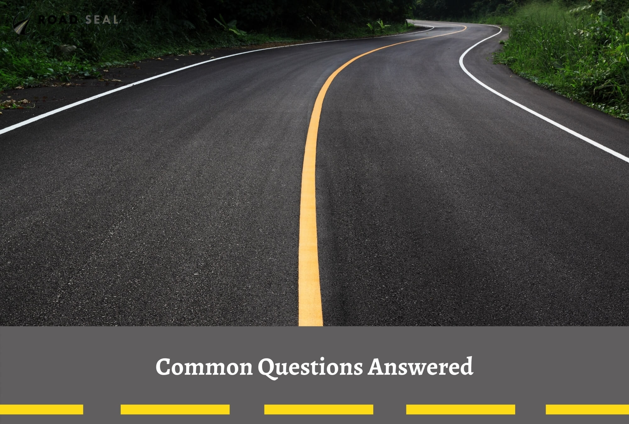 Common Questions Answered - Road Sealing with Road Seal Australia