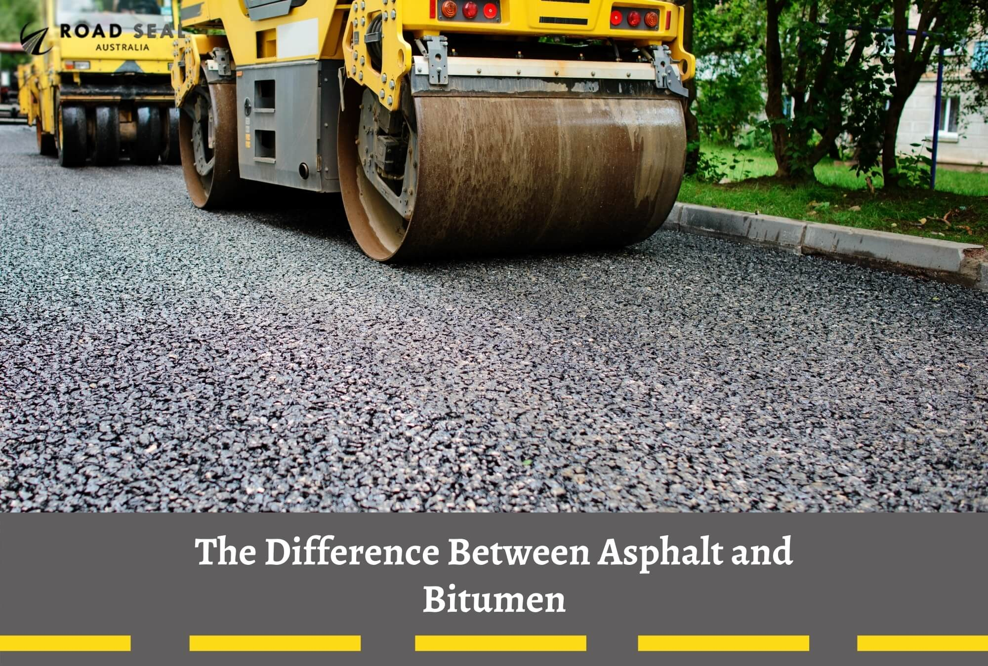 The Difference Between Asphalt and Bitumen